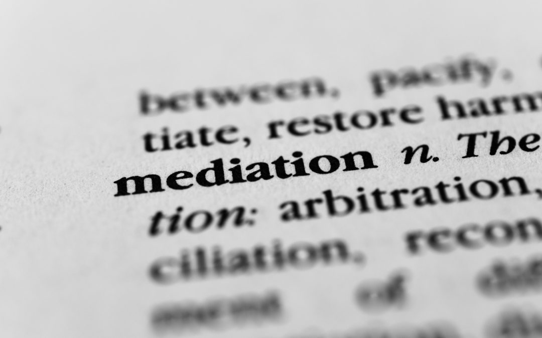 A case for mediation